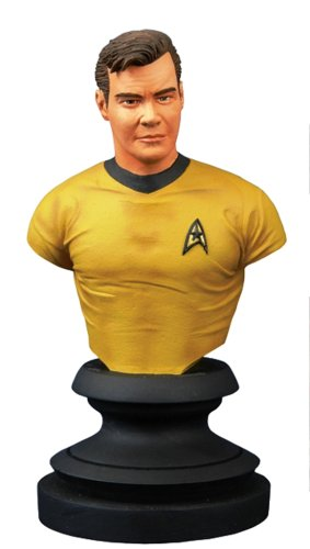 Star Trek Icons Captain Kirk - Star Trek Icons: Captain Kirk Bust