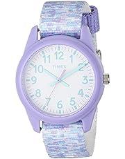 Timex Girls Time Machines Analog Elastic Fabric Strap Watch