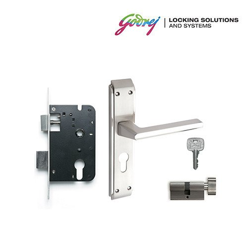types of door knob locks. godrej neh 05 1ck 20cm zinc alloy door handle set with lock body and cylinder types of knob locks