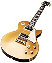 Gibson 2016 T Les Paul Studio 50's Tribute Electric Guitar, Gold Top
