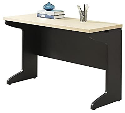 Altra Benjamin Executive Desk, Natural/Gray by Altra Furniture