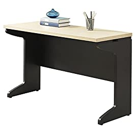 Altra Benjamin Executive Desk, Natural/Gray