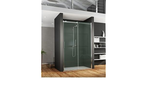 Mampara de ducha deslizante Axer con acceso de cara de cristal ...