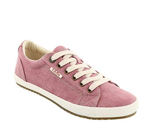 Taos Footwear Women's Star Rose Wash Canvas Sneaker 11 M ()