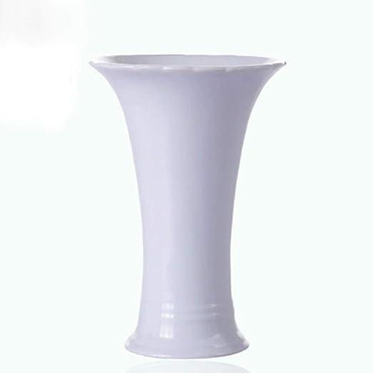 YONGYONGCHONG Mesa de cerámica Blanca Florero pequeño Mesa de ...