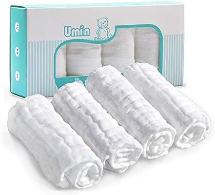 Paños Umiin de Bebé, Paños de Bebé para el Baño Súper Suaves de ...
