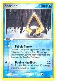 Pokemon - Snorunt (64) - EX Power Keepers