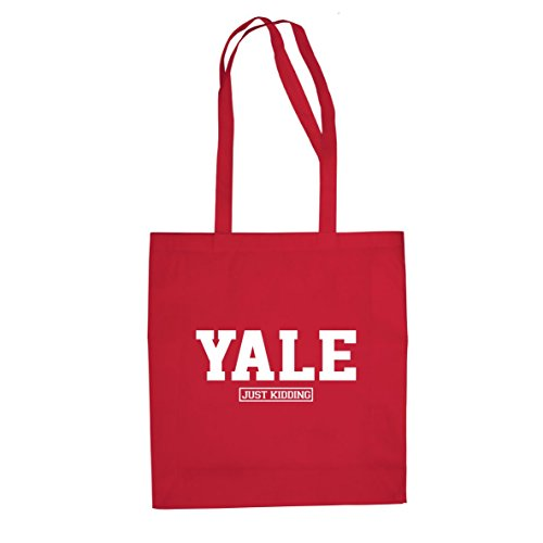 Yale Just Kiddung -Stofftasche / Beutel, Farbe: rot