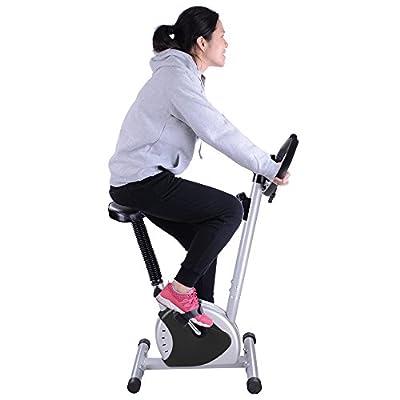 AW Exercise Bike Fitness Cycling Machine Home Personal Gym Cardio Aerobic Equipment Black