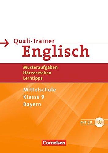 Abschlussprüfung Englisch Hauptschule Bayern 9 Jahrgangsstufe Quali Trainer Arbeitsheft Mit Hörverstehensaufgaben Auf Hör Cd Fraas Kunigunde 9783464317839 Amazon Com Books