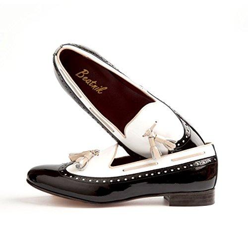 Shoes stringate tinta Scarpe donna unita Beatnik Tv47wR14q
