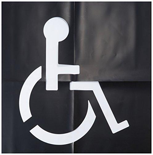0 Handicap Parking Lot Stencil 48