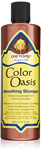 12 Oz Smoothing Shampoo - one 'n only Argan Oil Color Oasis Smoothing Shampoo, 12 Ounce