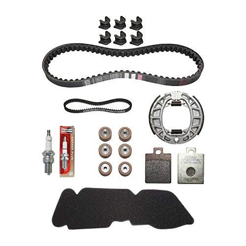 Piaggio onderhoudsset voor Scoot Original 50 Zip 2t 2000+, Vespa 50 LX 2t 2005+ (met regelrails) – 1r000400