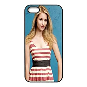 iPhone 4 4s Cell Phone Case Black Dianna Agron JSK680532