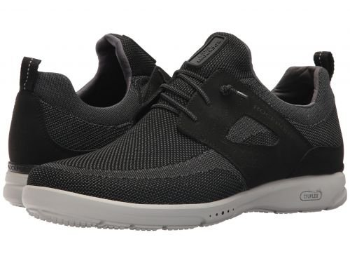 Rockport(ロックポート) メンズ 男性用 シューズ 靴 スニーカー 運動靴 TruFlex Mesh Tie - Black [並行輸入品] B07BL693BZ