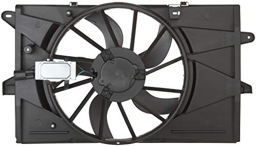 Radiator Shroud Assembly Sable Fan - Spectra Premium CF15076 Engine Cooling Fan Assembly