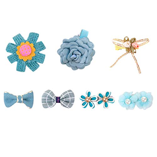 Sunbona Hair Clips for Women Girls Pet Ornaments Pretty Cute Hairpin Flower Gift Boxed Pet Products