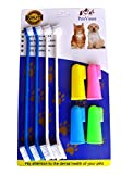 Product review for Pet Dog Soft Toothbrush Food grade material pet toothbrush Dental Hygiene Brushes for Small to Large Dogs (4 Neutral Size + 4 Head Toothbrush)