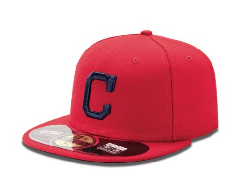 New Era MLB Cleveland Indians Alternate AC On Field 59Fifty Fitted Cap-678