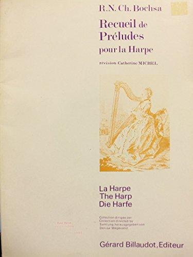 Recueil de Preludes pour la Harpe