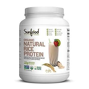 Amazon.com: Sunfood Rice Protein, Natural, 2.5 Pounds Tub