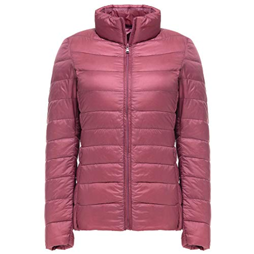 Bangyin Coupe Down Packable Rose Femmes Femmes Lger Ultra Lger Manteaux Down Red Down Hiver Jacket Automne 0rSq0wa