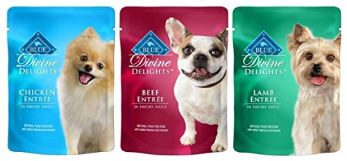 Blue Buffalo Divine Delights Variety Pack (6 pouches total) by Blue Buffalo