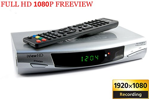 New FULL HD 1080P Freeview Digital TV Receiver & USB HD Recorder Tuner Set Top HD DigiBox Terrestrial + USB and SD Slot TV Schedule Program Recorder + MP4 MKV H.264 Multi Media Video & Photo Player For UK Switchover Converter High Definition Box with HDMI and SCART OUT DVB-T (3in1 DEVICE) 1 YEAR REPLACEMENT WARRANTY (FOR UK +R.O.I + EUROPE)
