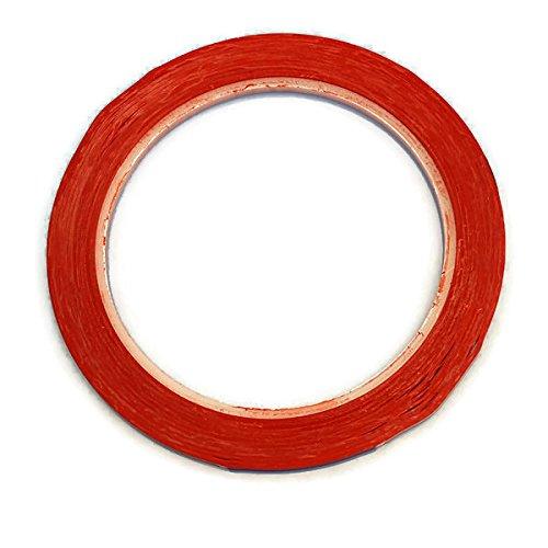 Rot 13m selbstklebend Klebeband Weißwandtafeln Markierungsband