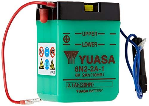 YUASA Batterij 6N2-2A-1 batterij (prijs incl. EUR 7,50 borg)
