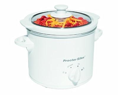 Proctor Silex 33015Y 1-1/2-Quart Round Slow Cooker-P