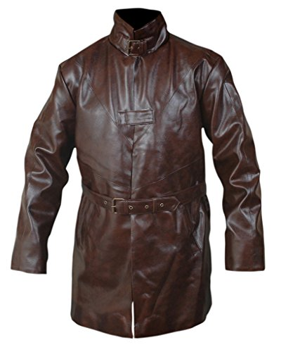 F&H Men's Watch Dogs Aiden Pearce Trench Coat 5XL Brown by Flesh & Hide (Image #4)