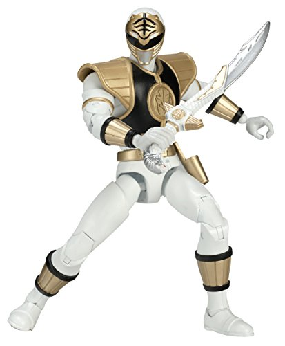 (Mighty Morphin Power Rangers 6.5-Inch White Ranger Legacy Figure)