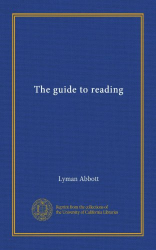 The guide to reading