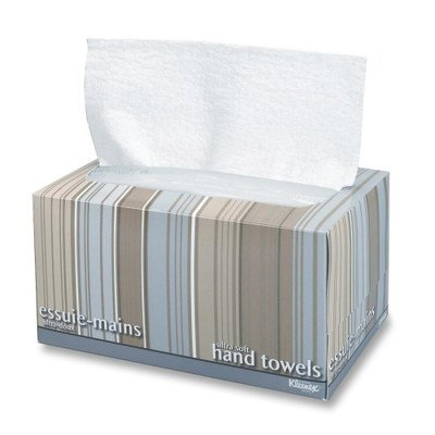 Professional Kleenex Ultra Soft Hand Towels, 70/Box [Set of 2] by Kimberly-Clark