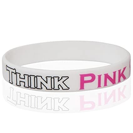 cancer england Breast wristbands in