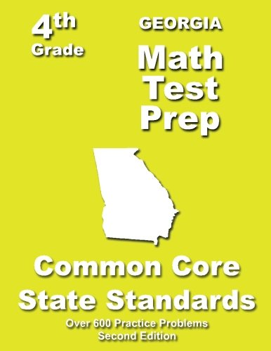 Georgia 4th Grade Math Test Prep: Common Core Learning Standards