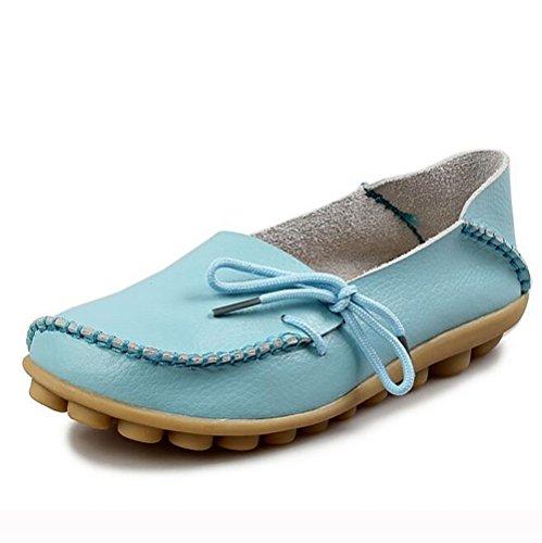 SHANGXIAN Zapatos 7 Zapatos Zapatos Plano 5 UK4 Barco Tacón Del CN37 5 L C Mamá Piel Mujeres De De Bajo Enfermera US6 5 Zapatos EU37 Genuina Z0rHxZn5