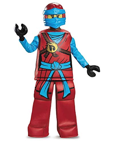 Lego Ninjago Masters of Spinjitzu Prestige Child Costume (M 7-8)