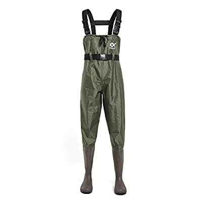 Duck And Fish Pvc Chest Wader Boots