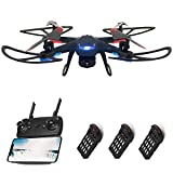 Global Drone Funcon FPV Drones with 720P HD Camera, RC Quadcopter Drone