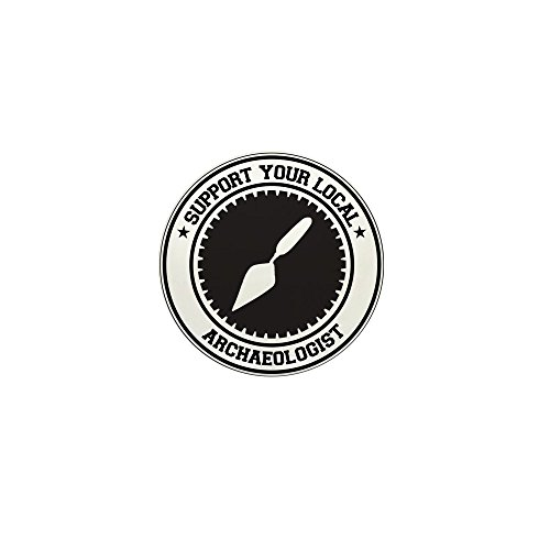 "CafePress Support Archaeologist 1"" Round Mini Button"