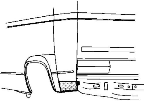 Van Wezel 5870134 Seitenwand Auto