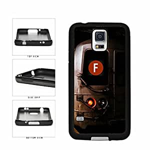 Personalized NYC Train Custom Letter F TPU RUBBER SILICONE Phone Case Back Cover Samsung Galaxy S5 I9600