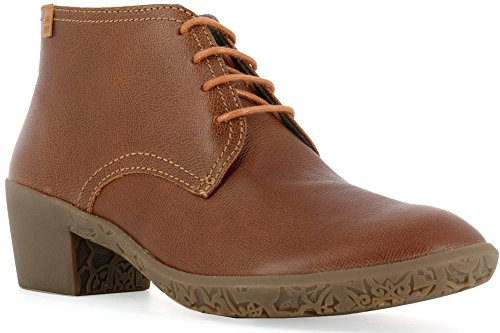Femme Wood NG11 Lacets Alhambra Cuir Capretto Bottines TFxaqIx
