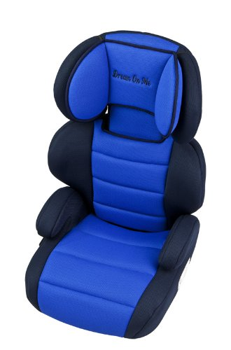 Amazon.com : Dream On Me Deluxe Turbo Booster Car Seat, Blue : Child ...