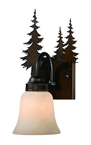 Vaxcel Yosemite 1L Vanity Burnished Bronze - VL55501BBZ