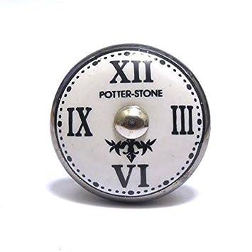 Potterstone Uhr Küchenschrank Tür Griff: Amazon.de: Küche & Haushalt