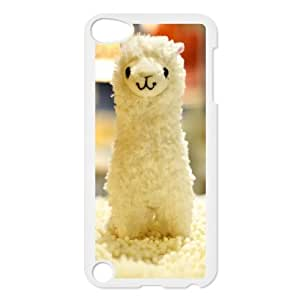 TOSOUL Customized Print Lama Pacos Pattern Hard Case for iPod Touch 5